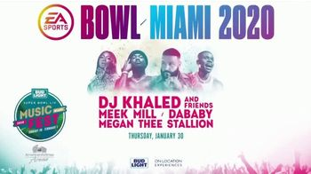 Super Bowl Music Fest TV Spot, '2020 Miami: American Airlines Arena: Meek Mill' - Thumbnail 7