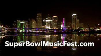 Super Bowl Music Fest TV Spot, '2020 Miami: American Airlines Arena: Meek Mill' - Thumbnail 6
