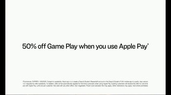 Dave and Buster's TV Spot, '50 Percent Off Game Play When You Use Apple Pay' - Thumbnail 7