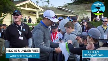 2020 AT&T Pebble Beach Pro-Am TV Spot, 'Don't Miss It' Feat. Dustin Johnson, Phil Mickelson - Thumbnail 6