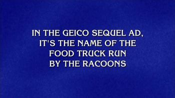 GEICO TV Spot, 'Jeopardy!: Chez Dumpster'