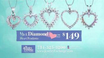 Jewelry Exchange TV Spot, 'Be My Valentine: Diamond Heart Pendants'