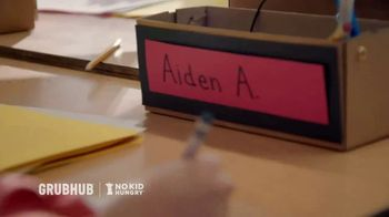 Grubhub TV Spot, 'No Kid Hungry: Donate With Your Order' - Thumbnail 1