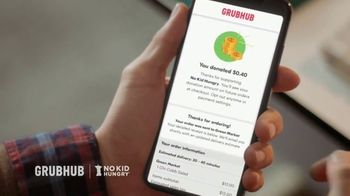 Grubhub TV Spot, 'No Kid Hungry: Donate With Your Order' - Thumbnail 3
