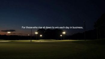 American Express TV Spot, 'For Those Who Rise at Dawn: Golf Course' - Thumbnail 9