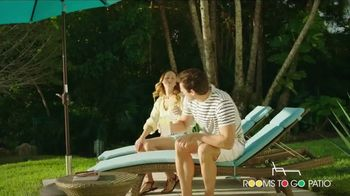 Rooms to Go Patio Holiday Weekend Sale TV Spot, 'Outdoor Furniture' - Thumbnail 1