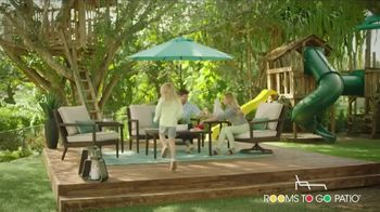 Rooms to Go Patio Holiday Weekend Sale TV Spot, 'Outdoor Furniture' - Thumbnail 4