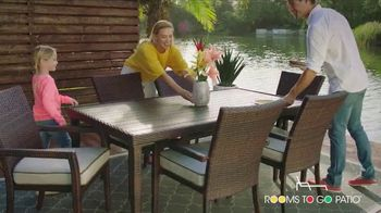 Rooms to Go Patio Holiday Weekend Sale TV Spot, 'Outdoor Furniture' - Thumbnail 9