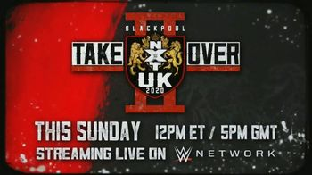 WWE Network TV Spot, '2020 NXT TakeOver: UK' [Spanish] - 3 commercial airings