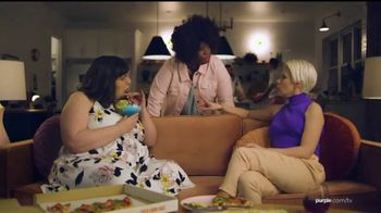 Purple Mattress Snore and 20 Sale TV Spot, 'Try It: Free Sheets and Premium Sleep Mask'
