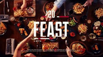 TGI Friday's $20 Feast TV Spot, 'Hey, America' - Thumbnail 9