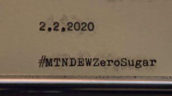 Mountain Dew Zero Sugar Super Bowl Teaser, 'As Good as the Original, Maybe Even Better?' - Thumbnail 4