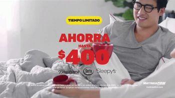 Mattress Firm Venta de Fin de Año TV Spot, 'Base adjustable gratis y ahorra $400 dólares' [Spanish]
