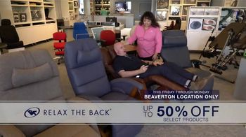 Relax the Back Clearance Sale TV Spot, \'It\'s Time\'