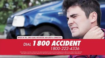1 800 Accident TV Spot, 'Dedicated to Accidents'