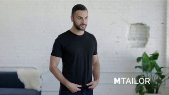 MTailor TV Spot, 'Perfectly Fitted T Shirts'