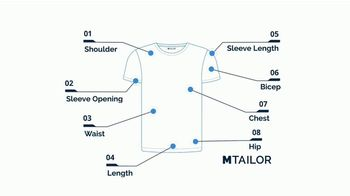 MTailor TV Spot, 'Perfectly Fitted T Shirts' - Thumbnail 6