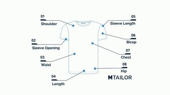 MTailor TV Spot, 'Perfectly Fitted T Shirts' - Thumbnail 7