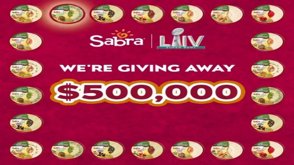 Sabra: Teaser: Dip, Watch, Win: Ridipulous Supply of Hummus