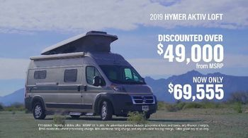La Mesa RV TV Spot, 'Top Brands: 2019 Hymer AKTIV Loft'