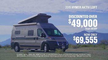 La Mesa RV TV Spot, 'Top Brands: 2019 Hymer AKTIV Loft'