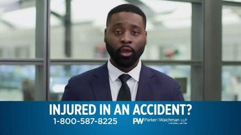 Parker Waichman TV Spot, 'When You Get Injured'