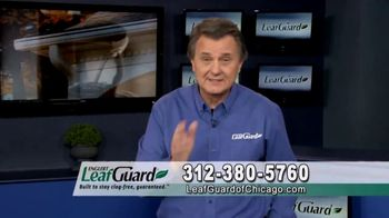 LeafGuard of Chicago 99 Cent Install Sale TV Spot, 'Cold Water'