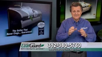 LeafGuard of Chicago 99 Cent Install Sale TV Spot, 'One Piece System'