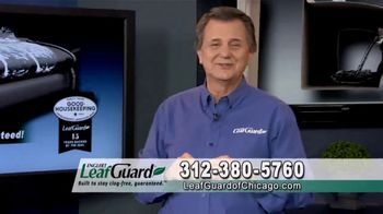 LeafGuard of Chicago 99 Cent Install Sale TV Spot, 'One Piece System' - Thumbnail 9