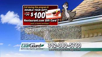 LeafGuard of Chicago 99 Cent Install Sale TV Spot, 'One Piece System' - Thumbnail 8