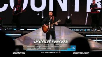 2020 Country Megaticket TV Spot, 'Pre-Sale Ticket Packages' - Thumbnail 9