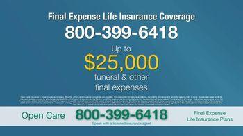 Open Care Insurance Services Final Expense Life Insurance Coverage TV Spot, 'Peace: $25,000' - Thumbnail 9
