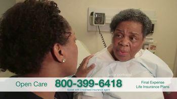 Open Care Insurance Services Final Expense Life Insurance Coverage TV Spot, 'Peace: $25,000' - Thumbnail 2