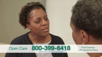 Open Care Insurance Services Final Expense Life Insurance Coverage TV Spot, 'Peace: $25,000' - Thumbnail 4