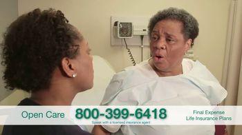 Open Care Insurance Services Final Expense Life Insurance Coverage TV Spot, 'Peace: $25,000' - Thumbnail 5