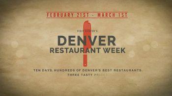 Visit Denver TV Spot, '2020 Denver Restaurant Week' - Thumbnail 9