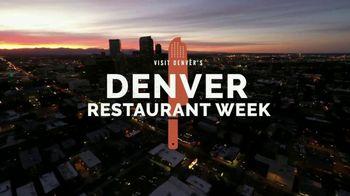 Visit Denver TV Spot, '2020 Denver Restaurant Week' - Thumbnail 2