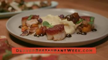Visit Denver TV Spot, '2020 Denver Restaurant Week'