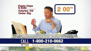 Lipozene Weight Loss Protein Bar TV Spot, 'Mid-Morning Cravings'