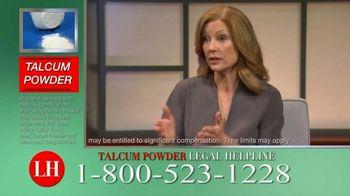 Onder Law Firm TV Spot, 'Talcum Powder Legal Helpline: Ovarian Cancer & Mesothelioma' - Thumbnail 3