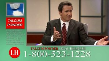 Onder Law Firm TV Spot, 'Talcum Powder Legal Helpline: Ovarian Cancer & Mesothelioma' - Thumbnail 4