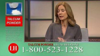 Onder Law Firm TV Spot, 'Talcum Powder Legal Helpline: Ovarian Cancer & Mesothelioma' - Thumbnail 5