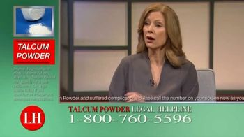 Dalimonte Rueb, LLP TV Spot, 'Talcum Powder Legal Helpline: Ovarian Cancer & Mesothelioma'