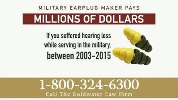 Goldwater Law Firm TV Spot, 'Military Earplugs' - Thumbnail 5