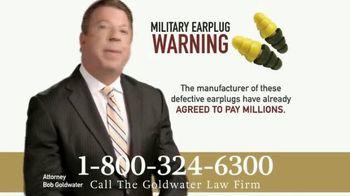 Goldwater Law Firm TV Spot, 'Military Earplugs' - Thumbnail 7