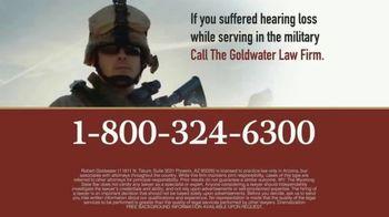 Goldwater Law Firm TV Spot, 'Military Earplugs' - Thumbnail 9