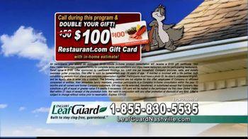 LeafGuard of Nashville 99 Cent Install Sale TV Spot, 'The Big Mouth' - Thumbnail 9