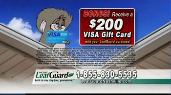 LeafGuard of Nashville 99 Cent Install Sale TV Spot, 'The Big Mouth' - Thumbnail 7