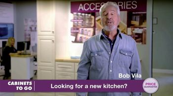 Cabinets To Go Buy More Save More Sales Event TV Spot, 'Combination' Featuring Bob Vila - Thumbnail 2
