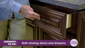 Cabinets To Go Buy More Save More Sales Event TV Spot, 'Combination' Featuring Bob Vila - Thumbnail 7